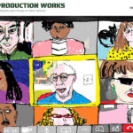 Image showing a screen-shot of the Co-production Works Website